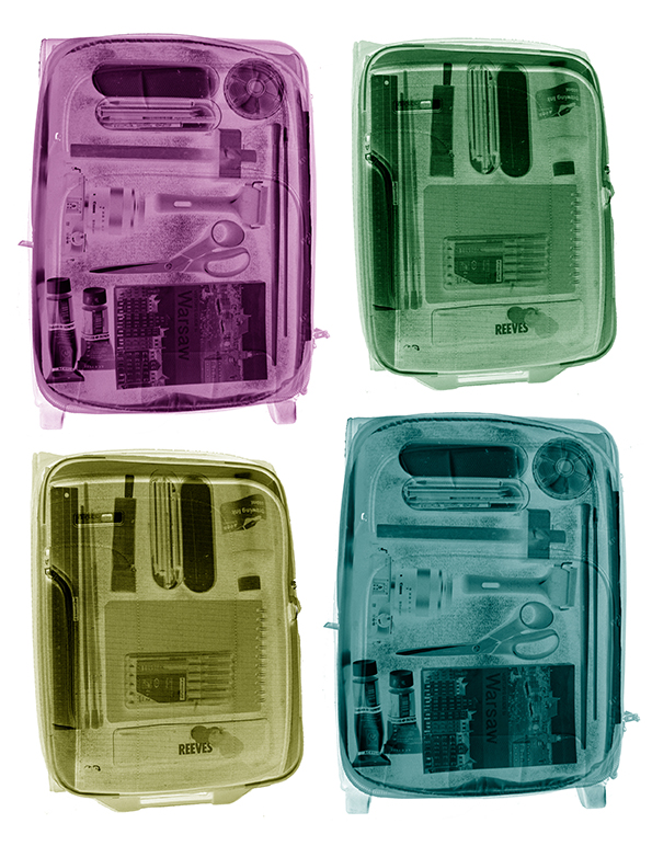 Coloured suitcases at 72dpi
